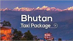 bhutan taxi package