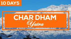 char dham package for 10 days