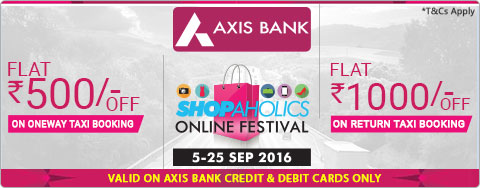 Axis Bank Shopaholic offer
