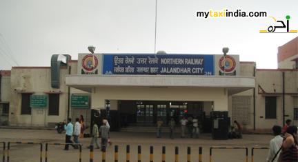 jalandhar cantonment railway station