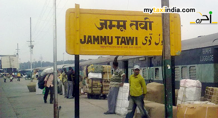 Hire Rental Car Cab And Taxi From Jammu Tawi Railway Station