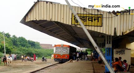 vrindavan railway station