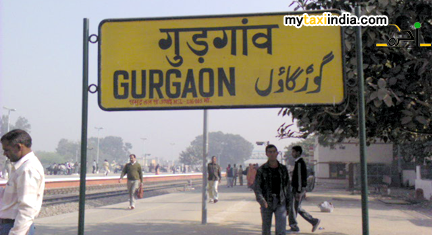 hire low price rental taxi from gurgaon railway station