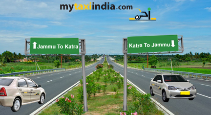 Hire Rental Car Cab And Taxi From Jammu To Katra My