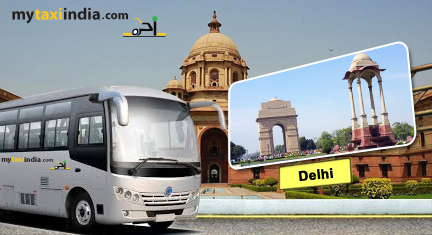 hire bus and tempo traveller in delhi
